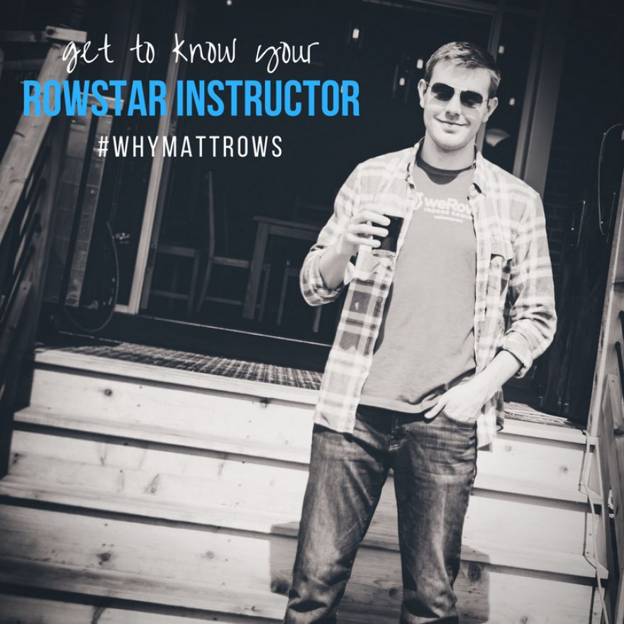 #WhyIRow | RowStar Instructor Matt