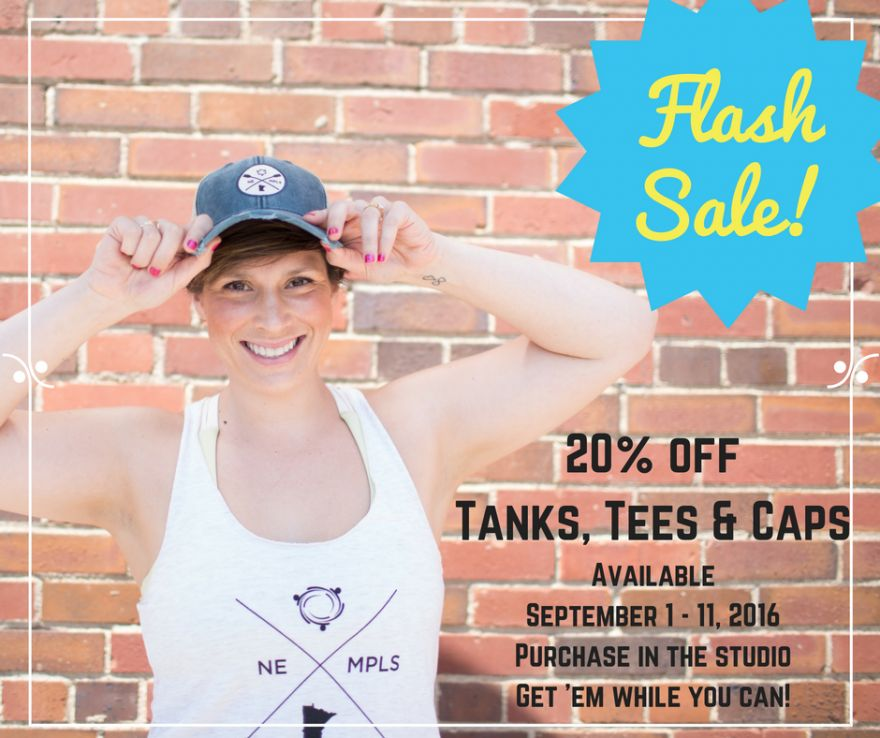 Flash Sale on weRow Gear!