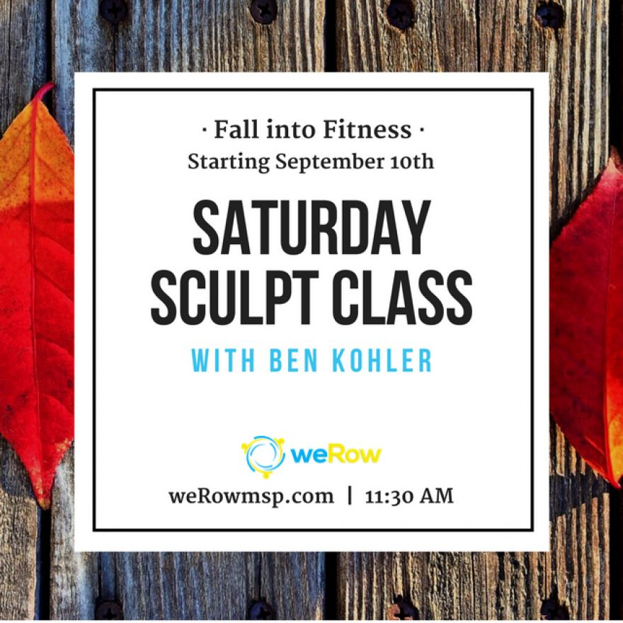 Fall Into Fitness with Saturday Sculpt Class!