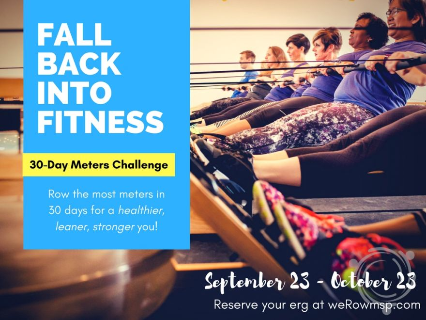 Fall back into Fitness with a New 30-Day ROW Challenge!